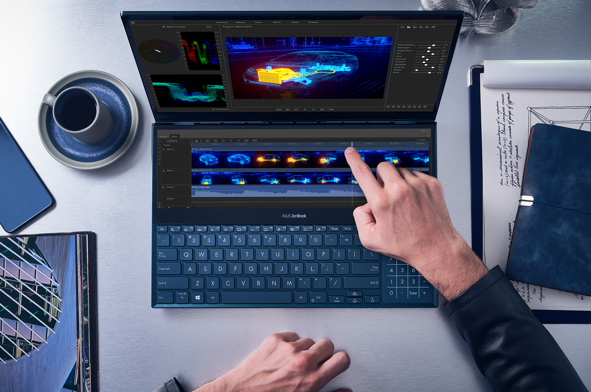Asus Announces Zenbook Pro Duo Ux581 With Revolutionary